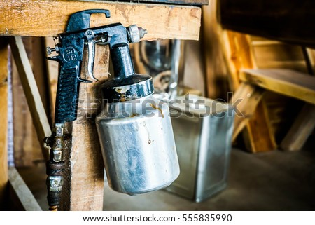 Spray Gun #555835990