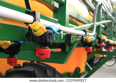 Sprayer for agriculture irrigation   Images and Stock Photos