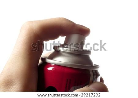 sprayin