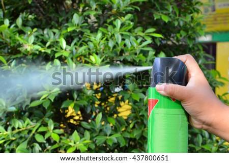 Spray insecticide Foto d'archivio ©