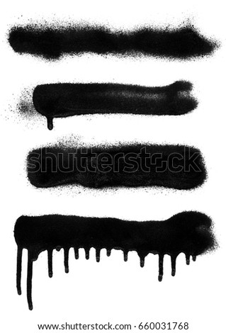 Spray Paint. Rectangle Shaded Format.black color #660031768