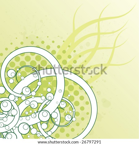 Spring Abstract - stock photo