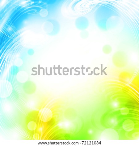 Spring abstract background with copyspace for your text