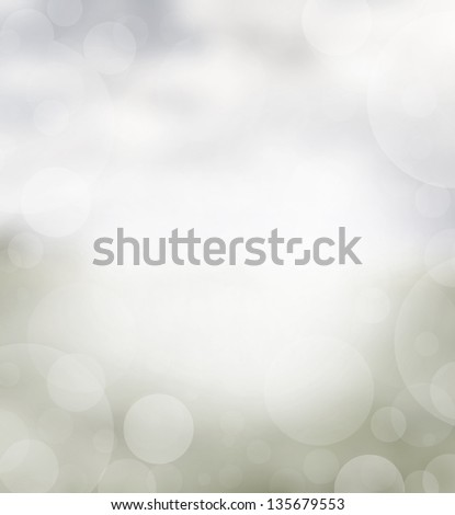 Spring abstract background with grey and blue tones