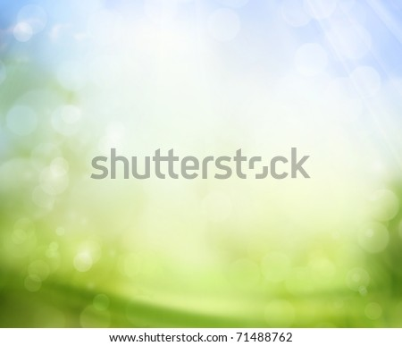 spring background - Shutterstock ID 71488762