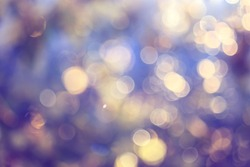 spring bokeh abstract blurred background, sun glare background