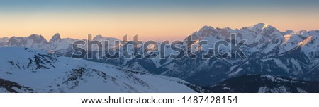 spring days in the mountains Niedere Tauern