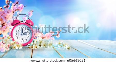 spring forward time   savings...