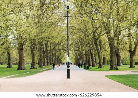 Spring in Hyde Park, London, United Kingdom #626229854