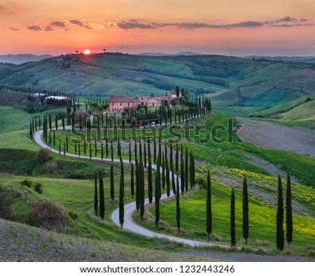 Spring in Tuscany, Italy #1232443246