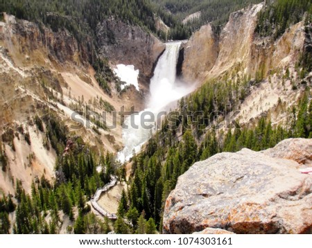 Spring in Yellowstone Park