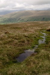 Spring on Whernside looking into Dentdale, Yorkshire Dales
