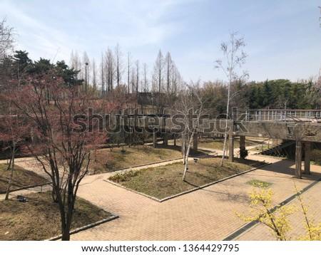 Spring outdoor park #1364429795