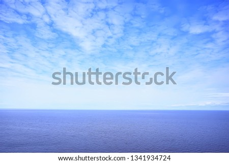 spring sky clouds background / #1341934724