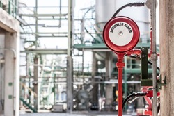 sprinker Alarm and valve fire protection