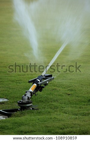 sprinkler of automatic