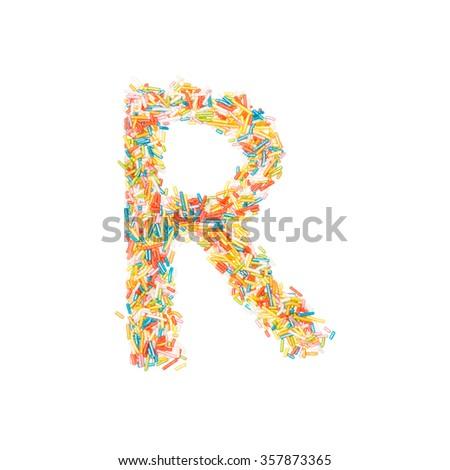 Free Photos Birthday Cake Font Letter R Avopix