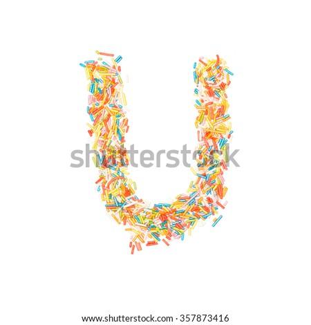Free Photos Birthday Cake Font Letter U Avopix