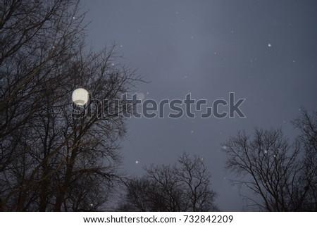 Sprinkling Sky at Dusk #732842209