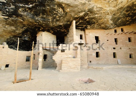 Spruce Tree House cliff dwelling ruins