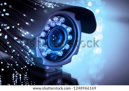 spy cam with optic fiber