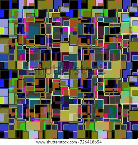 Square as a pattern #726418654