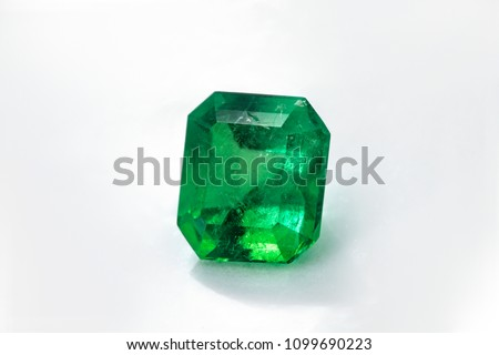 square emerald and gemstone to jewelry  and jade