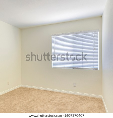 Square Emplty square room clean inside nice interior nice interior