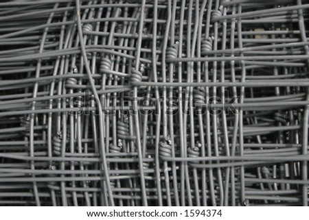 square fence wire