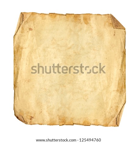 Square Format Textured Antique Paper