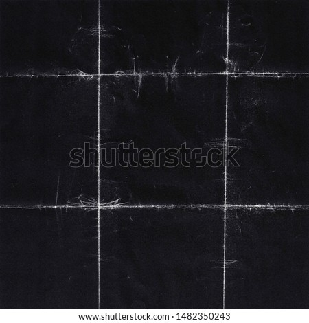 Square Grunge Folded Paper Texture. Authentic Folded and Distressed Paper Texture Perfect for Backgrounds and Social Media Post. - Texture/Photograph