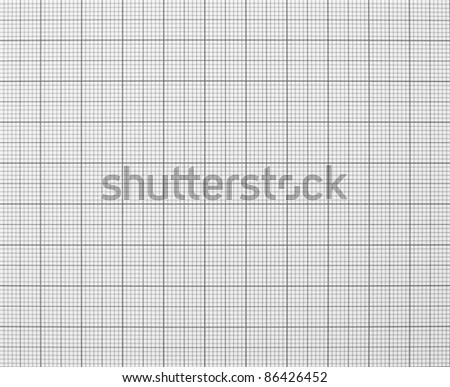 Squared graph grid paper texture black and white