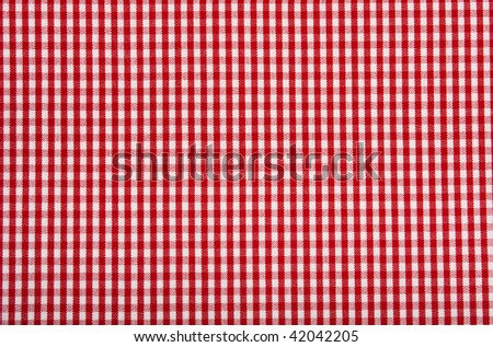 Squared pattern background in red and white.