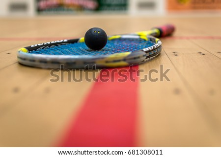 Squash Ball Сток-фото ©