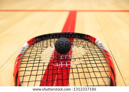 Squash match intro #1312337186