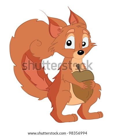 Squirrel - Shutterstock ID 98356994