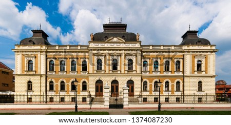 Sremski Karlovci, Serbia - Vojvodina, building of Serbian Orthodox Theological Seminary  #1374087230