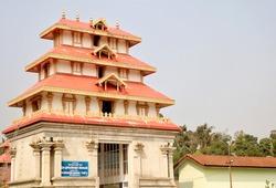 Sri Bhagandeshwara Temple, Bhagamandala, Karnataka.