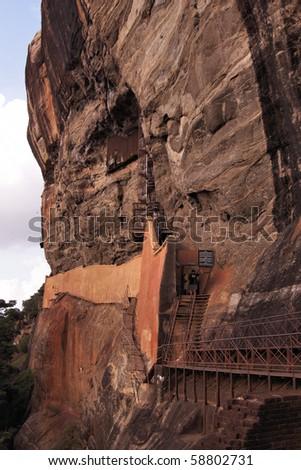 Sri Lanka - Ceylon - Sigiriya - Lion's rock