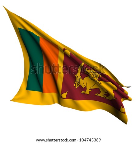 Sri Lanka flag - collection no_4