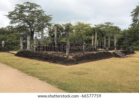 Sri-Lanka - Polonnaruwa - ancient capital of Ceylon - house of eight relics