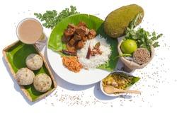 Sri Lankan Food and Fruits