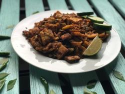 Sri Lankan street food - Kottu