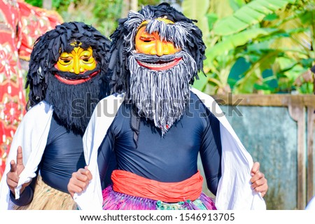 sri lankan Traditional  Yaka Mask dance. Stok fotoğraf ©