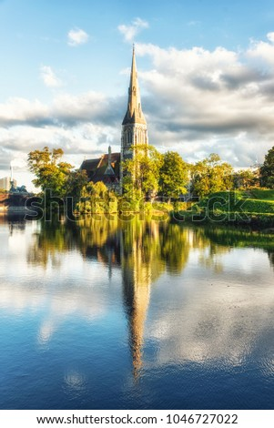St. Alban's Church, locally often referred to simply as the English Church, is an Anglican church in Copenhagen, Denmark. It was built from 1885 to 1887 for the growin English congregation in the city
