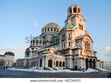 St. Alexander Nevski Cathedral in Sofia