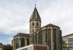 St. Andrew (German: St. Andreas) is a 10th-century Romanesque church located in the old town of Cologne, Germany. It is one of twelve churches built in Cologne in that period