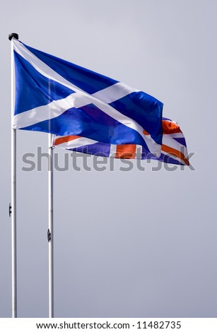st andrews and union jack