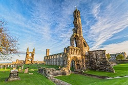St Andrews Cathedral in St. Andrews, Scotland