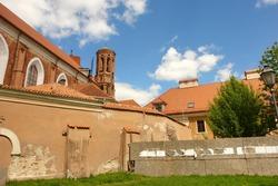 St. Ann and St. Bernardin churches in Vilnius, Lithuania